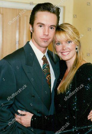 Actor Shaun Cassidy With His Wife Ann Cassidy. Box 674 1124031610 A.jpg.