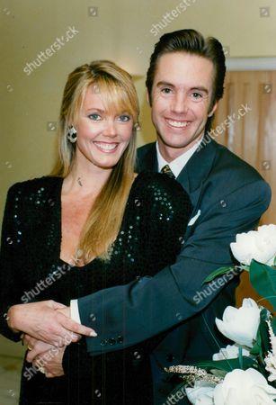 Actor Shaun Cassidy With His Wife Ann Cassidy. Box 674 1124031612 A.jpg.