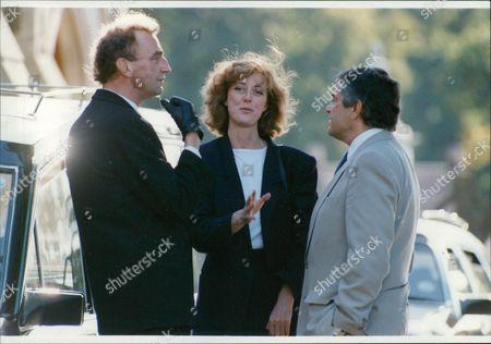 Actress Maria Aitken At The Funeral Of Actress Jill Bennett. Box 679 392004168 A.jpg.