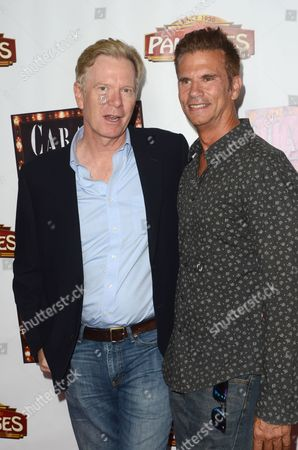 Stock Picture of William R. Moses and Lorenzo Lamas