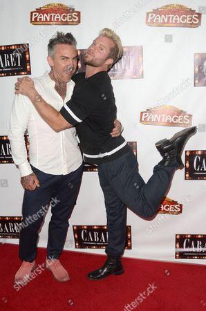 Brandon Liberati and Craig Ramsay