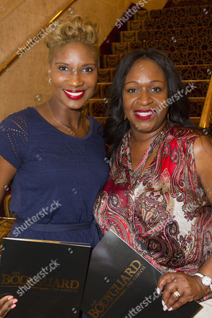Stock Image of Denise Lewis and Angie Greaves