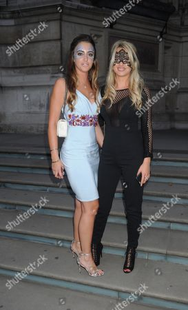 Stock Photo of Georgina Leigh Cantwell and Sophie Heffer