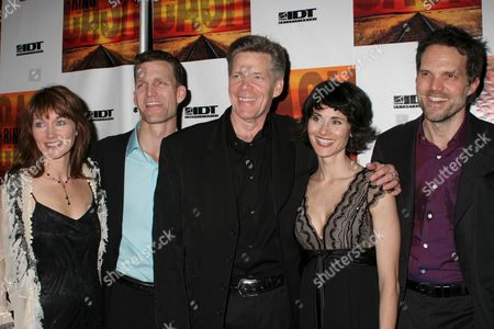 Stock Image of Lari White, Jarrod Emick, Jason Edwards, Beth Malone, Jeb Brown