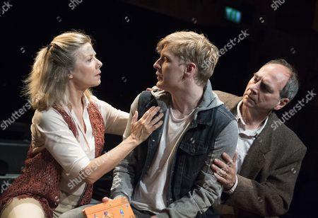 Glynis Barber as Nancy, Gerard McCarthy as David, Geoffrey Towers as Robert