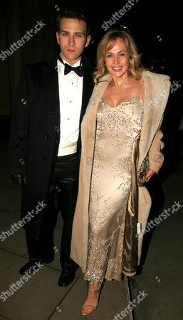 Stefan Booth and wife Debbie Flett