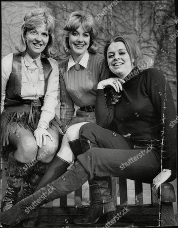 Actresses (l-r): Jan Butlin Jacki Piper And Lynda Baron. Box 678 607041644 A.jpg.