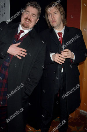 Phill Jupitus and Phil Wilding