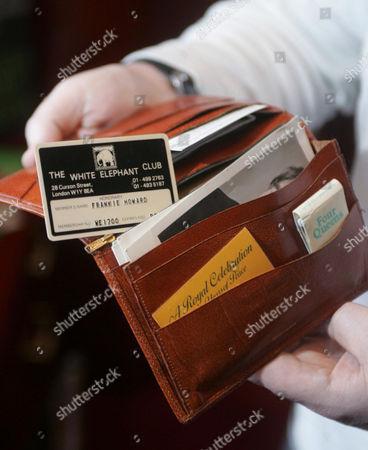 Frankie Howerd wallet
