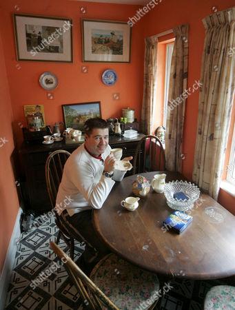 Christopher Byrne in the breakfast room