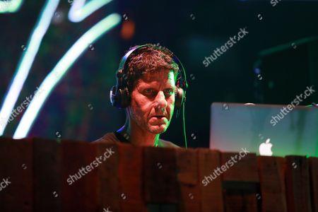 Mike Diamond of the Beastie Boys aka Michael Diamond performs on the Parlor Stage at Panorama Music Festival