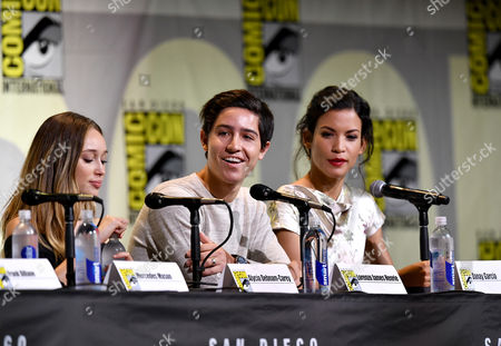 Editorial picture of 'Fear The Walking Dead' TV series panel, Comic-Con International, San Diego, USA - 22 Jul 2016