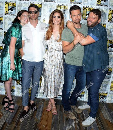 Editorial photo of 'Salem' TV Series press line, Comic-Con International, San Diego, USA - 22 Jul 2016