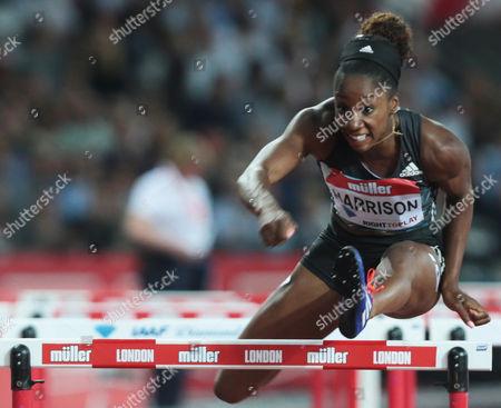 Kendra Harrison USA 100m Hurdles Final