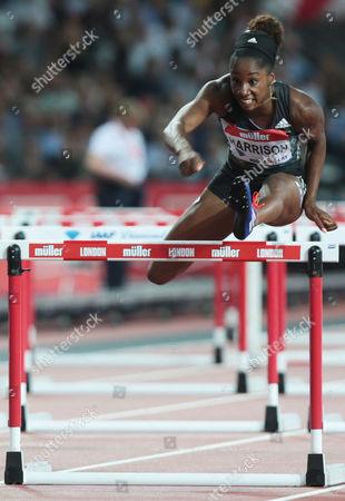 Kendra Harrison USA 100m Hurdles Final1