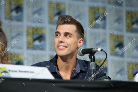 Sharknado actor Cody Linley attends the panel on Friday.