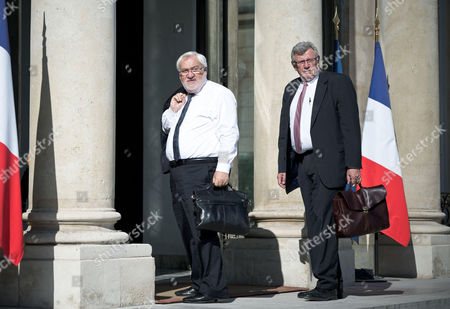 Jean-Marc Todeschini (L) and Christian Eckert