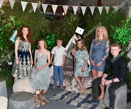 Editorial photo of Swallows and Amazons gala film screening, London, UK - 23 Jul 2016