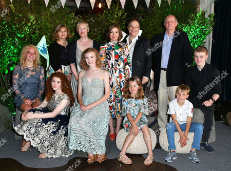 Stock Photo of (Front row) Seren Hawkes, Hannah Jayne Thorp, Orla Hill, Teddie Malleson-Allen, Bobby McCulloch, Dan Hughes (Back row) Andrea Gibb, Philippa Lowthorpe, Kelly Macdonald, Joe Oppenheimer, Nick Barton
