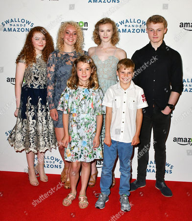Editorial picture of Swallows and Amazons gala film screening, London, UK - 23 Jul 2016