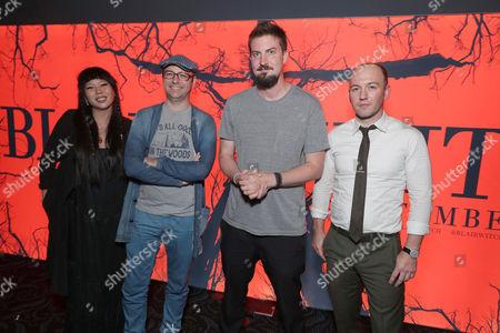 Jessica Wu, Keith Calder, Simon Barrett, Adam Wingard