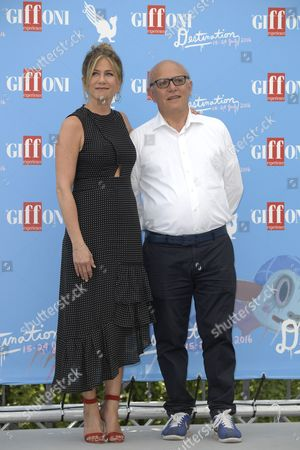 Jennifer Aniston and Claudio Gubitosi