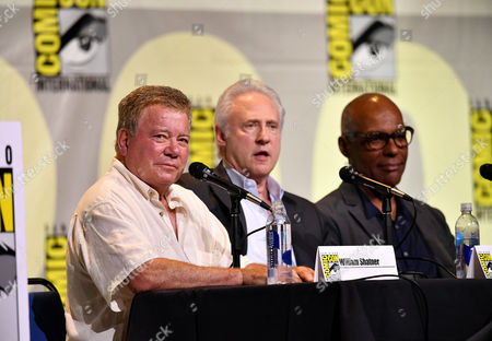 William Shatner, Brent Spiner and Michael Dorn