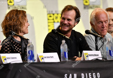 Editorial photo of 'Aliens' 30th Anniversary panel, Comic-Con International, San Diego, USA - 23 Jul 2016