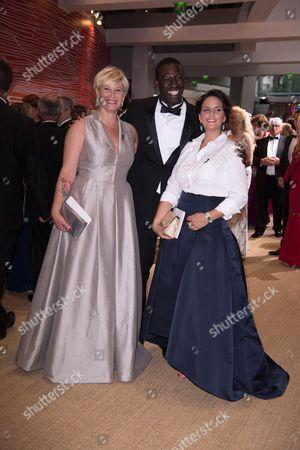 Maitena Biraben, Omar Sy and his wife Helene