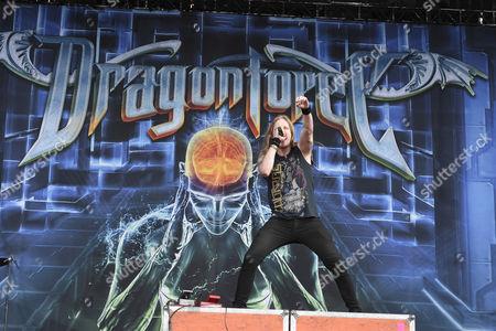 Marc Hudson vocalist of DragonForce