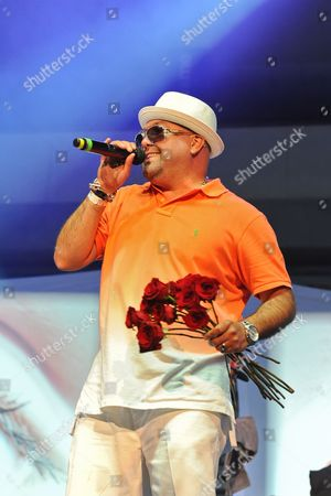 Rapper Mark Calderon of Color Me Badd