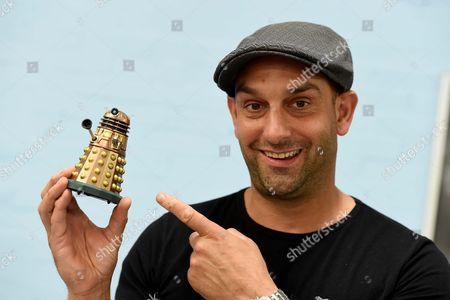 Stock Photo of Dalek actor Jon Davey