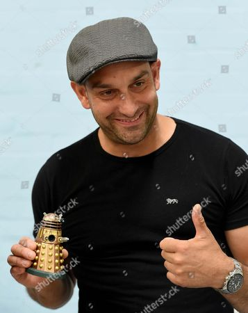 Stock Image of Dalek actor Jon Davey