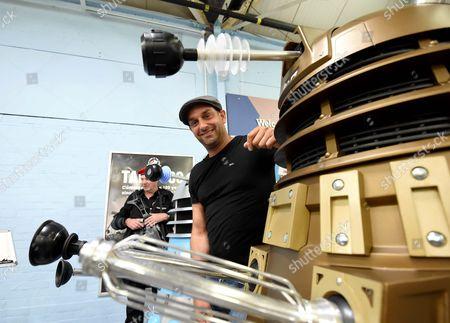 Editorial picture of Attack of the Daleks at Bovington Tank Museum, Dorset, UK - 24 Jul 2016