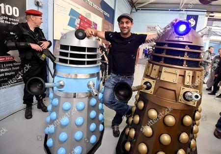 Stock Picture of Dalek actor Jon Davey