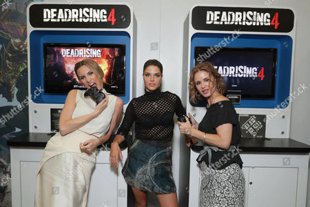 Jessica Harmon, Marie Avgeropoulos, Keegan Connor Tracy