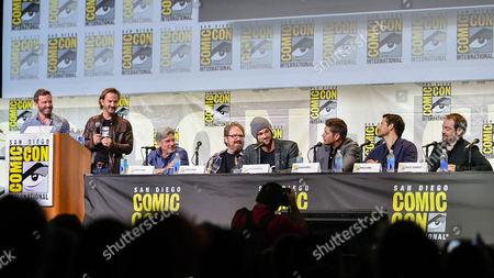 Editorial photo of 'Supernatural' TV series panel, Comic-Con International, San Diego, USA - 24 Jul 2016