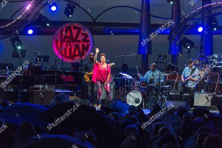 Editorial photo of Jazz a Juan festival, Antibes, France - Jul 2016