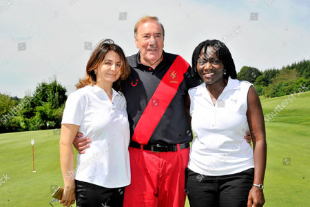 Guest, Frank Fleschenberg and Dr Auma Obama