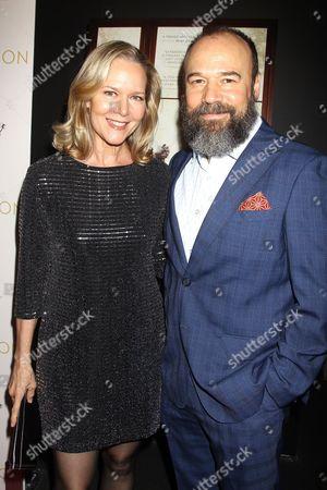 Rebecca Luker and Danny Burnstein