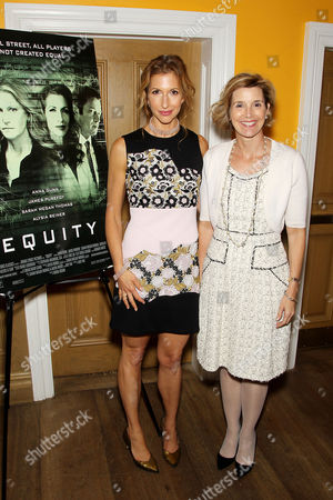 Stock Photo of Alysia Reiner, Sallie Krawcheck (CEO Ellevest)