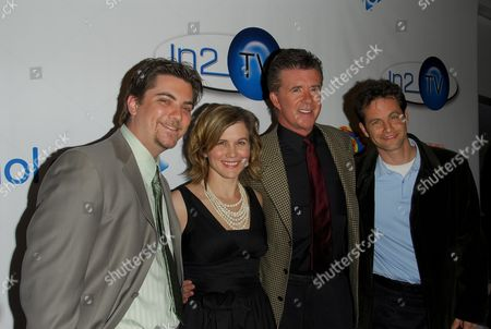 Jeremy Miller, Tracey Gold, Alan Thicke and Kirk Cameron