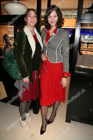 Poppy De Villeneuve and Jasmine Guinness