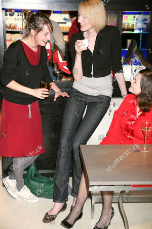Poppy De Villeneuve and Jade Parfitt