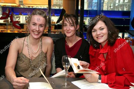 Cynthia Fortune Rainey, Poppy De Villeneuve and Jasmine Guinness