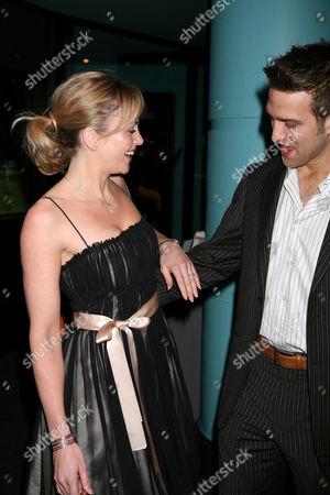 Stefan Booth and fiancee Debbie Flett