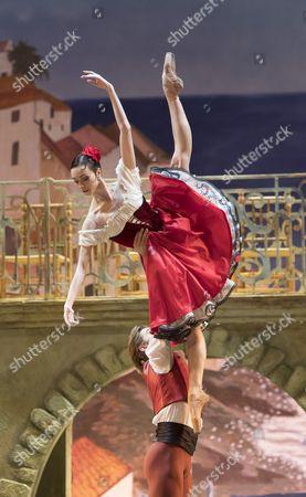 Editorial image of 'Don Quixote' ballet peformed by the Bolshoi Ballet at the Royal Opera House, London, UK, 25 Jul 2016