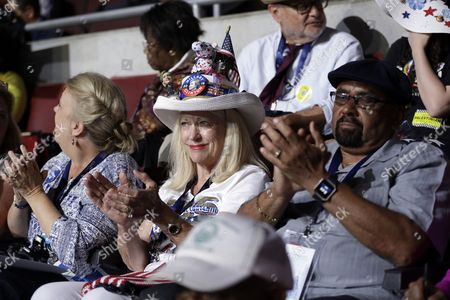 Editorial image of Democratic National Convention, Philadelphia, USA - 25 Jul 2016