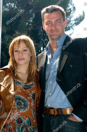 Chiara Mastalli and Ray Stevenson