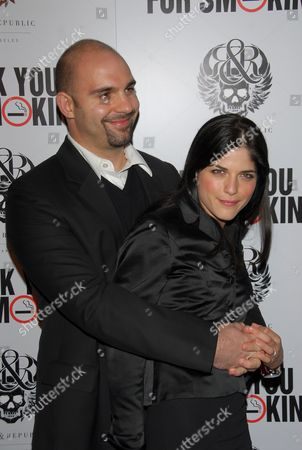 Ahmet Zappa and Selma Blair